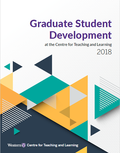 Cover of Graduate Student Development Report