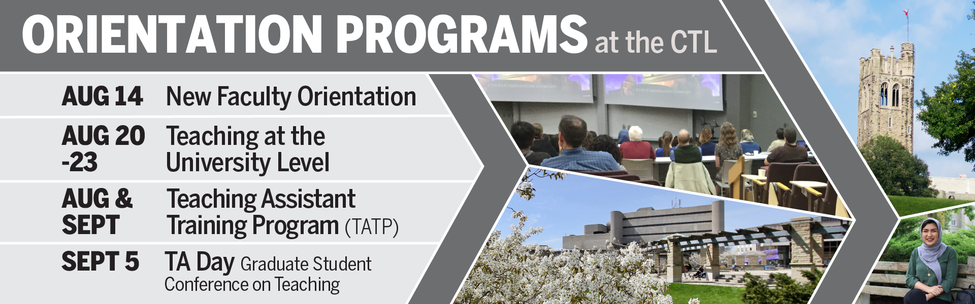 Orientation Program Dates