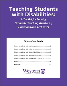 Cover of Teaching Students with Disabilities Guide