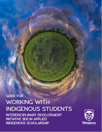 Cover of Guide for Working with Indigenous Students